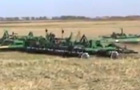 Summers 50' Supercoulter with 51' Hydraulic Fold Rolling Choppers