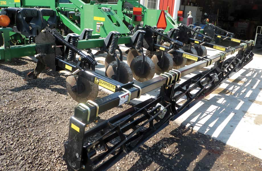 Rolling Basket Harrow : Summers mounted rolling basket features benefits