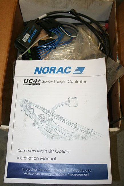 Norac center boom height pkg1
